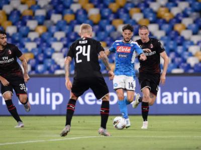 Pagelle Napoli-Milan 2-2, i voti della partita: Mertens trascinatore, Donnarumma colpevole