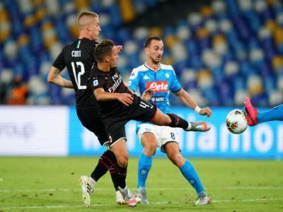 VIDEO Napoli-Milan 2-2: highlights, gol e sintesi. Pari rossonero dal dischetto