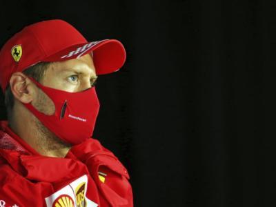 """F1, Sebastian Vettel: """"Dovevamo prenderci dei rischi sulle gomme. Non siamo dove vorremmo"""""""