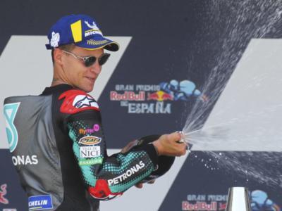 """VIDEO MotoGP, GP Spagna 2020. Fabio Quartararo: """"Il giorno più bello della mia vita"""""""