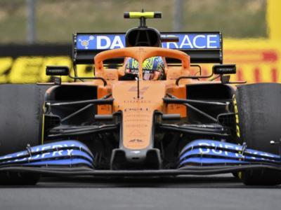 """F1, Lando Norris: """"Ho fatto un errore in partenza sul bagnato, poi su questa pista è stato difficile rimontare"""""""