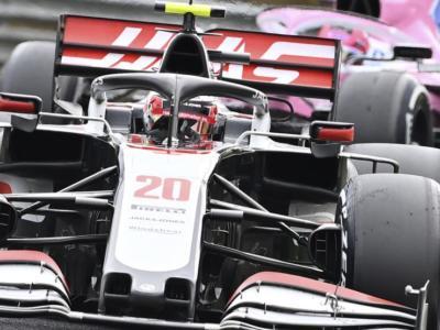 F1, l'azzardo vincente delle Haas. Magnusseen festeggia con un punticino