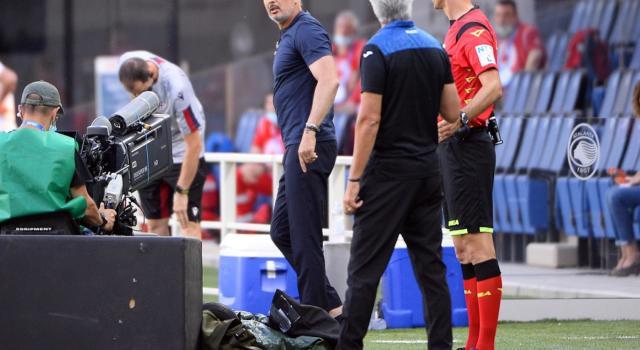 Calcio, Serie A 2020: Atalanta-Bologna 1-0. Decide Muriel, lite tra Gasperini e Mihajlovic