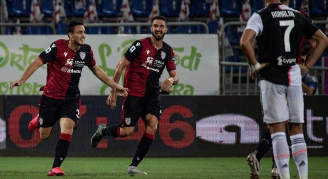VIDEO Cagliari-Juventus 2-0: highlights, gol e sintesi. Vittoria di prestigio per i sardi