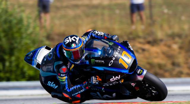 Moto2, risultato warm-up GP Catalogna 2020: Luca Marini si conferma il più veloce, Bastianini 6° e Bezzecchi 9°