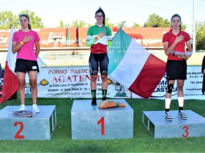 Ciclismo su pista, Carlotta Cipressi profeta in patria:suo il tricolore 2020 al Servadei di Forlì