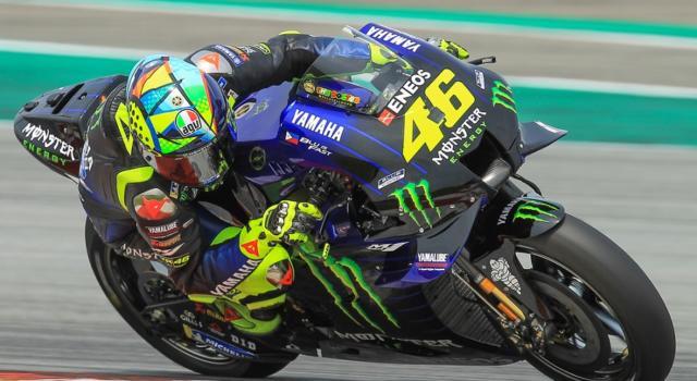MotoGP, un venerdì complicato per Valentino Rossi. Tanto lavoro attende il 'Dottore'