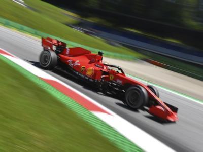 """LIVE F1, GP Stiria 2020 in DIRETTA: qualifiche a rischio per la pioggia. Leclerc: """"La Ferrari ha potenziale"""""""