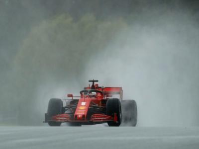 """LIVE F1, GP Ungheria 2020 in DIRETTA: Vettel 1° sul bagnato. Leclerc: """"Più veloci del previsto"""""""