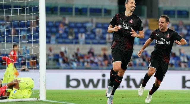 VIDEO Lazio-Milan 0-3: highlights, gol e sintesi. Tris rossonero all'Olimpico, biancocelesti affossati