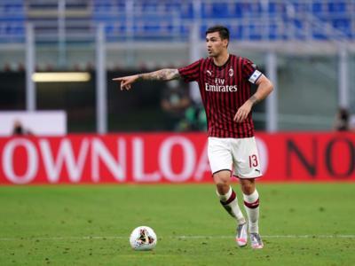 Calcio, Serie A 2020: stagione finita per Romagnoli. Il Milan perde il suo capitano