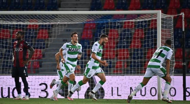 VIDEO Bologna-Sassuolo 1-2: highlights, gol e sintesi. Decidono Berardi e Haraslin