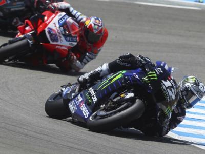 """MotoGP, Maverick Vinales: """"La moto si muove troppo e non posso spingere, domani in gara sarà durissima"""""""
