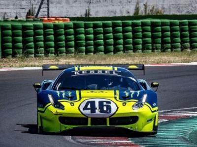 Valentino Rossi in pista a Misano con la Ferrari 488: il Dottore si prepara per la 12 Ore del Golfo