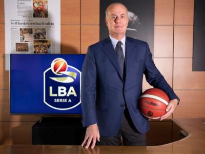 """Basket, Umberto Gandini: """"Con Spadafora stiamo affrontando le tematiche dei vincoli sulla ripartenza"""". Serie A, inizio a porte chiuse?"""