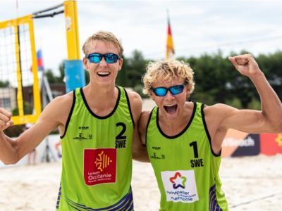 Beach volley, World Tour 2020. Prosegue l'onda scandinava: trionfo svedese a Montpellier