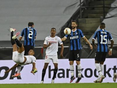VIDEO Inter-Siviglia 2-3, highlights, gol e sintesi: una rovesciata di Diego Carlos condanna i nerazzurri in Finale