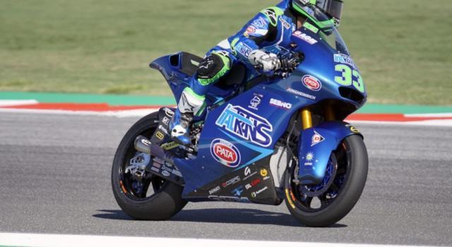 Moto2, risultato FP3 GP Emilia Romagna 2020: Enea Bastianini a passo da record, Bezzecchi 3° davanti a Marini