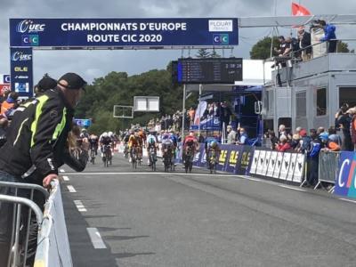 Ciclismo, Europei juniores 2020: Kasper Andersen fulmina Bittner e De Lie. Quinto Lorenzo Balestra