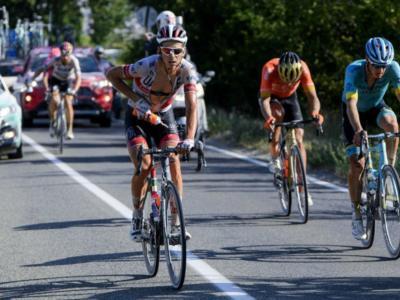 """Tour de France 2020: la classifica degli italiani. Formolo quinto a 17"""" da Alaphilippe, ben piazzati anche Bettiol e Caruso"""