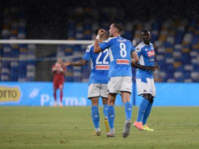 LIVE Barcellona-Napoli 3-1 in DIRETTA: passa la squadra di casa grazie ad uno strepitoso Messi. Pagelle e highlights
