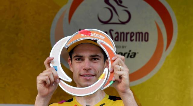 Milano-Sanremo 2020, quanti soldi ha vinto Wout Van Aert? Un trionfo epocale, montepremi bassissimo!