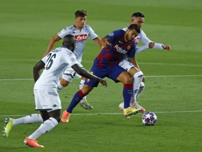 VIDEO Barcellona-Napoli 3-1: highlights, gol e sintesi. Eliminazione per i partenopei