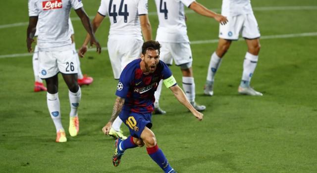 Calcio, Champions League 2020: Barcellona-Napoli 3-1. I catalani sfideranno ai quarti il Bayern Monaco