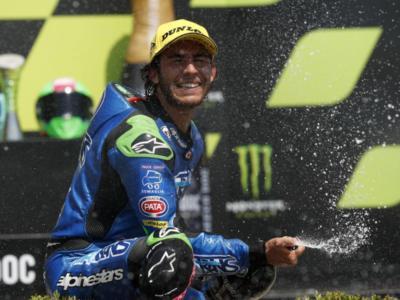 Classifica Mondiale Moto2: Enea Bastianini vince con nove punti su Luca Marini e Sam Lowes