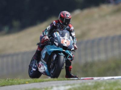"""MotoGP, Fabio Quartararo: """"Ho fatto fatica con le gomme, il settimo posto non è il risultato che volevo"""""""