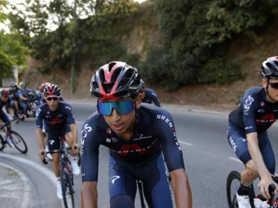 """Giro d'Italia, Egan Bernal: """"Non mi spaventa essere il favorito. Spero di farvi divertire"""""""