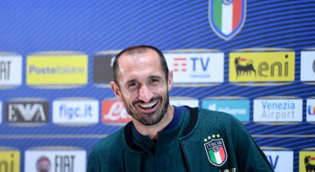 Calcio, Chiellini, Berardi e Caputo lasceranno il ritiro della Nazionale per problemi fisici