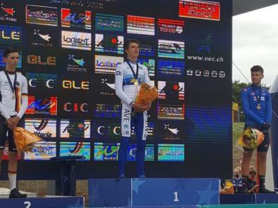 Ciclismo, Campionati Europei 2020: medaglia di bronzo per Lorenzo Milesi nella cronometro juniores! Vince Mathias Vacek