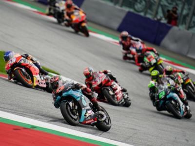 MotoGP, la griglia di partenza di oggi: Fabio Quartararo in pole su Miller e Petrucci, Dovizioso e Rossi per la rimonta