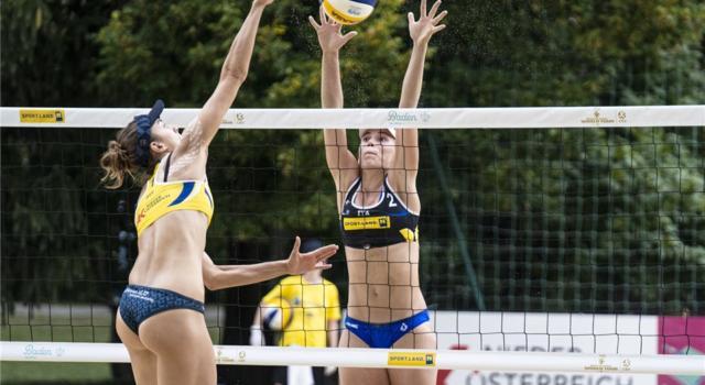 Beach Volley, World Tour 2020 Baden. Italbeach fuori ai quarti. Ko Menegatti/Orsi Toth e Windisch/Cottafava