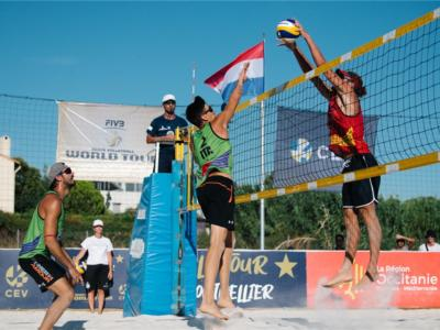 Beach volley, World Tour 2020 Montpellier. Ranghieri/Sablone battuti dai francesi: oggi gli ottavi con Pedrosa/Campos