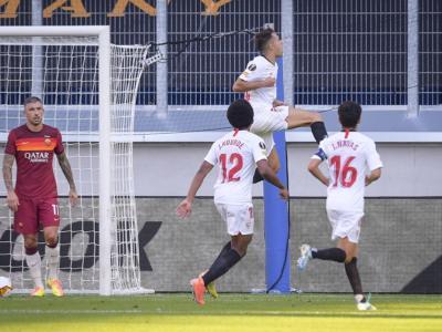 VIDEO Roma-Siviglia 0-2, Highlights, gol e sintesi: Sergio Reguilón e Youssef En-Nesyri stendono i giallorossi a Duisburg