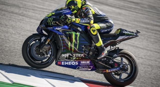 MotoGP, il venerdì da decifrare di Valentino Rossi. Ottimo tempo senza aver utilizzato le soft