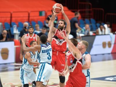 LIVE Olimpia Milano-Venezia 76-67, Supercoppa Italiana basket DIRETTA: Delaney con 19 punti trascina i meneghini in finale