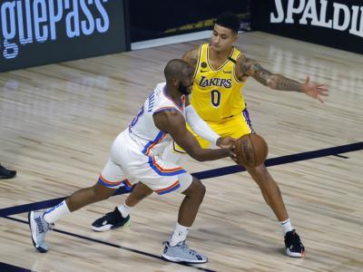 VIDEO, NBA 2020: gli highlights delle partite della notte. Successo di OKC contro i Lakers