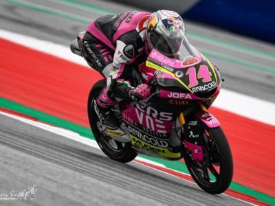 Moto3, risultati FP1 GP Valencia 2020: Tony Arbolino parte forte, indietro Arenas, Ogura e Vietti