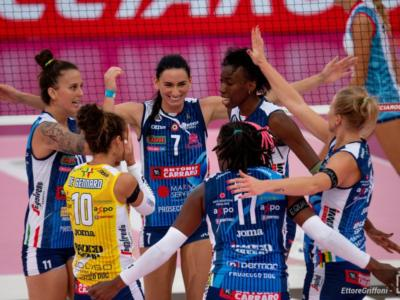 LIVE Conegliano-Busto Arsizio 3-0, Finale Supercoppa Italiana volley DIRETTA: terzo trofeo consecutivo per le Pantere!