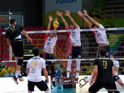 Volley, Coppa Italia maschile: Monza vince il derby con Milano al tie-break. Ravenna ai quarti