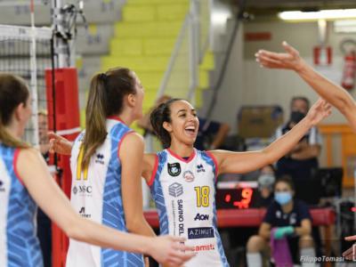 Volley femminile, Champions League: Scandicci travolge lo Yuzhny ed è a un passo dalla fase a gironi