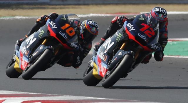 Moto2, risultato qualifiche GP Europa 2020: pole di Vierge, Lowes 3° e Bezzecchi 5°. Marini chiude 7°, Bastianini solo 15°