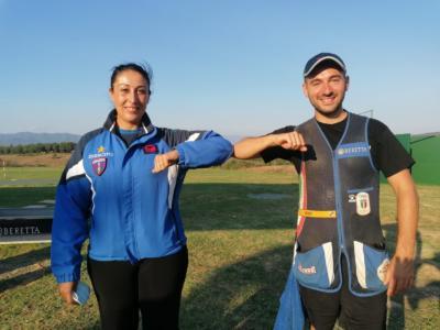 Tiro a volo, Campionati Italiani Skeet: Diana Bacosi e Gabriele Rossetti vincono i titoli tricolore