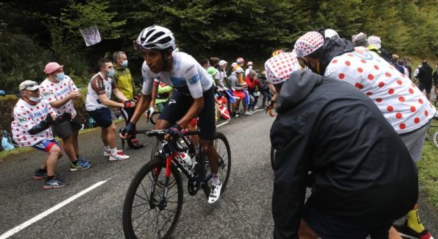 Tour de France 2020: l'orgoglio di Egan Bernal. Scatto imprevedibile, un segnale a Roglic: non è finita