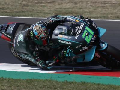 MotoGP, risultati warm-up GP Valencia 2020: Franco Morbidelli domina la scena, bene Dovizioso 5°, Mir 8° Valentino Rossi 15°