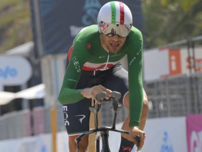 """LIVE Ciclismo, Mondiali 2020 in DIRETTA: Filippo Ganna in trionfo. """"Volevo vincere"""". Pagelle e highlights"""