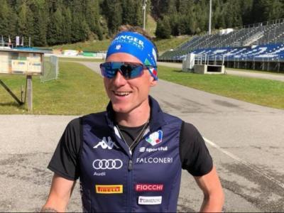 """Biathlon, Lukas Hofer: """"Vedo crescere bene i giovani, sono molto motivati. Durante la preparazione mi sto sentendo davvero bene"""""""